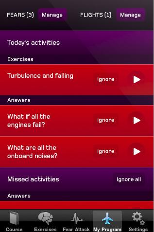 Virgin Atlantic iPhone app ...